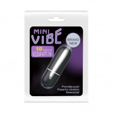 10 Speed Bullet Vibrator - Black