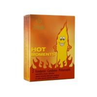 Θερμαντικά Προφυλακτικά - Amor Hot Moments 3 τμχ,